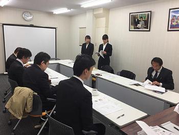 HP富士通と斎藤製菓にプレゼンする坂田ゼミ生.jpg