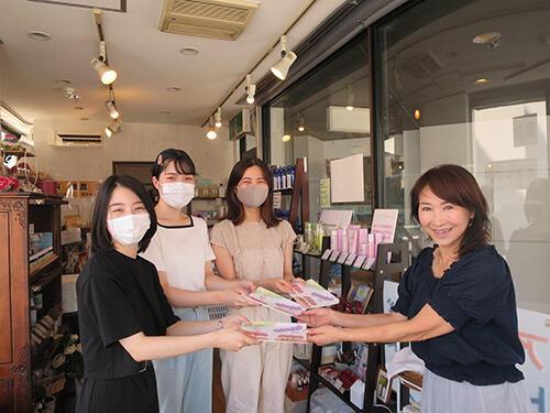 HP八事商店街理事長へ完成報告.jpg