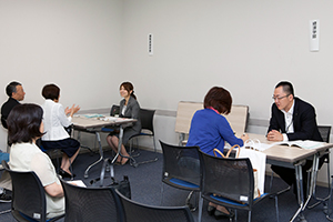 昨年名古屋キャンパスでの個別懇談会