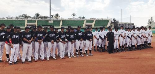 中京大学と台湾の国立嘉義大学 硬式野球部の国際親善試合を台湾で開催 中京大が2勝1敗