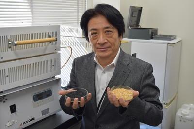20170306 籾殻炭 野浪教授.JPG
