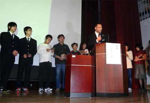 室伏先生上海特別講演
