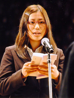 金子奈央さん