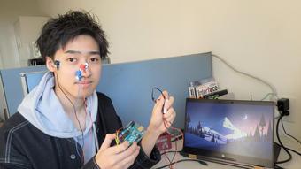 NISHデザイン案(鼻クリップ型)